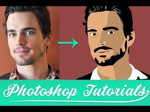 Как сделать в фотошопе мультяшное лицо из фотографии | Уроки по Фотошопу