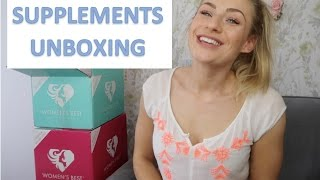 WHAT SUPPLEMENTS I USE | UNBOXING MY WOMENS BEST DELIVERY