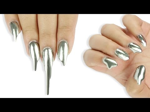 MIRROR NAILS in SECONDS!