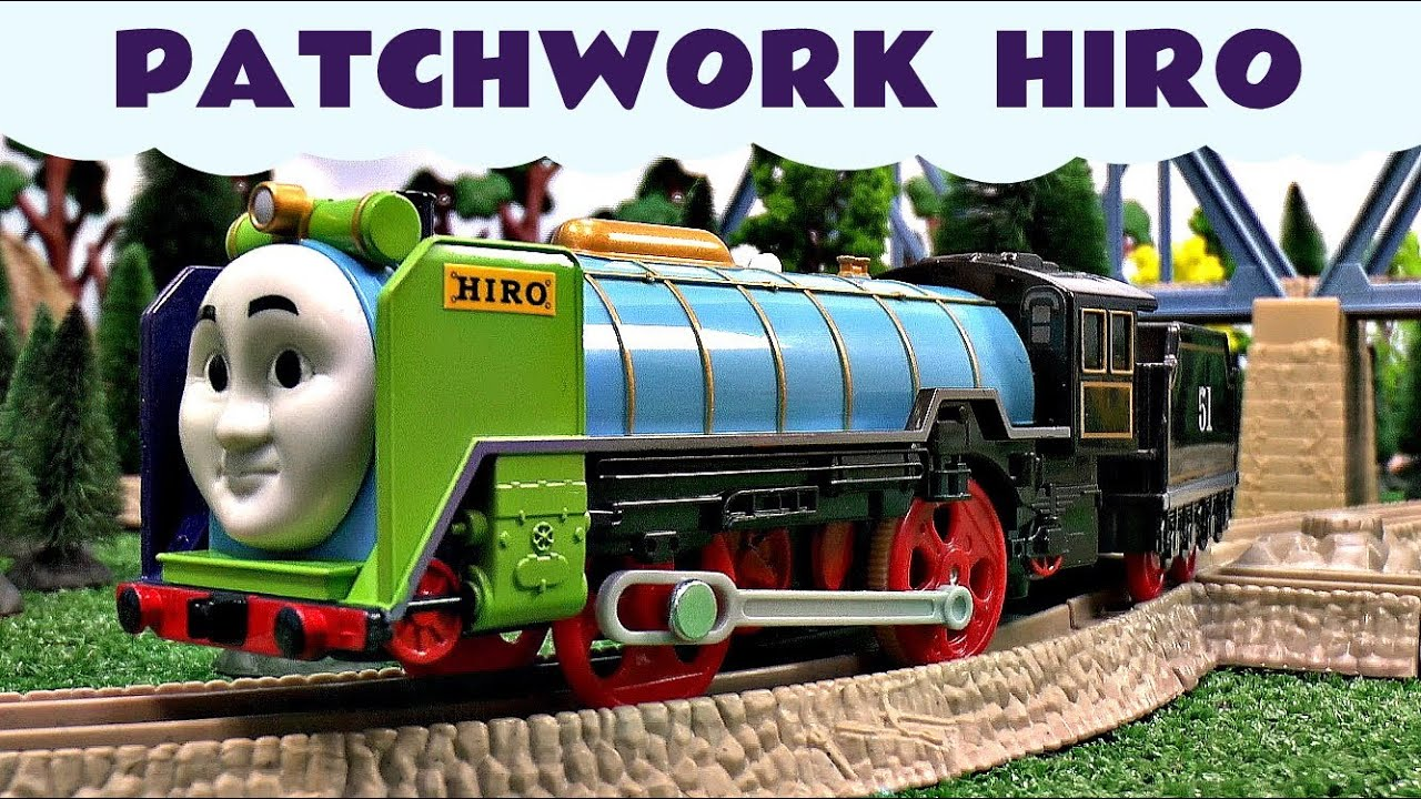 Patchwork Hiro Thomas The Tank Engine Motorized Kids Toy ...