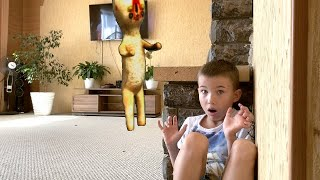 SCP Invasion SCP 173 Скульптура в доме SCP в реальной жизни
