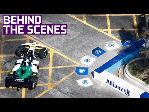 How Street Circuits Are Made - Formula E