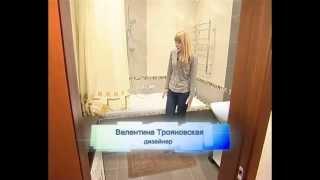 Дизайн интерьера - подиум для ванной.
