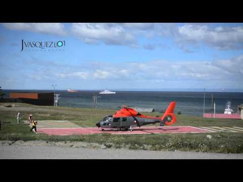 Helicóptero Naval Punta Arenas