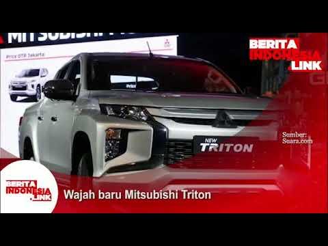 Wajah baru Mitsubishi Triton