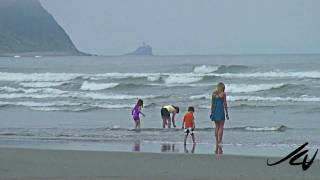 Seaside Oregon Beach July 2010 HD
