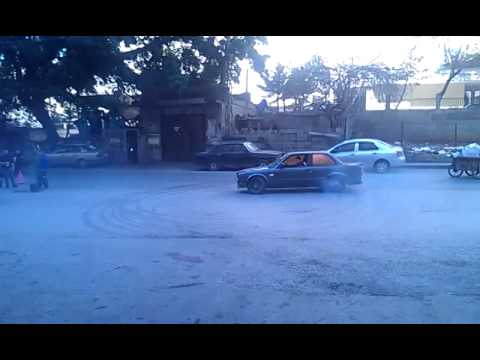 bmw e30 swap 2jz vvti twin turbo some donuts