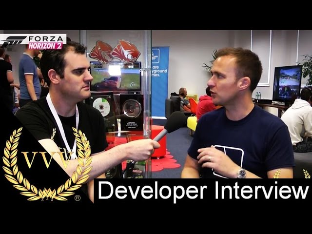 Alan Interviews Ralph Fulton - Creative Director - Forza Horizon 2
