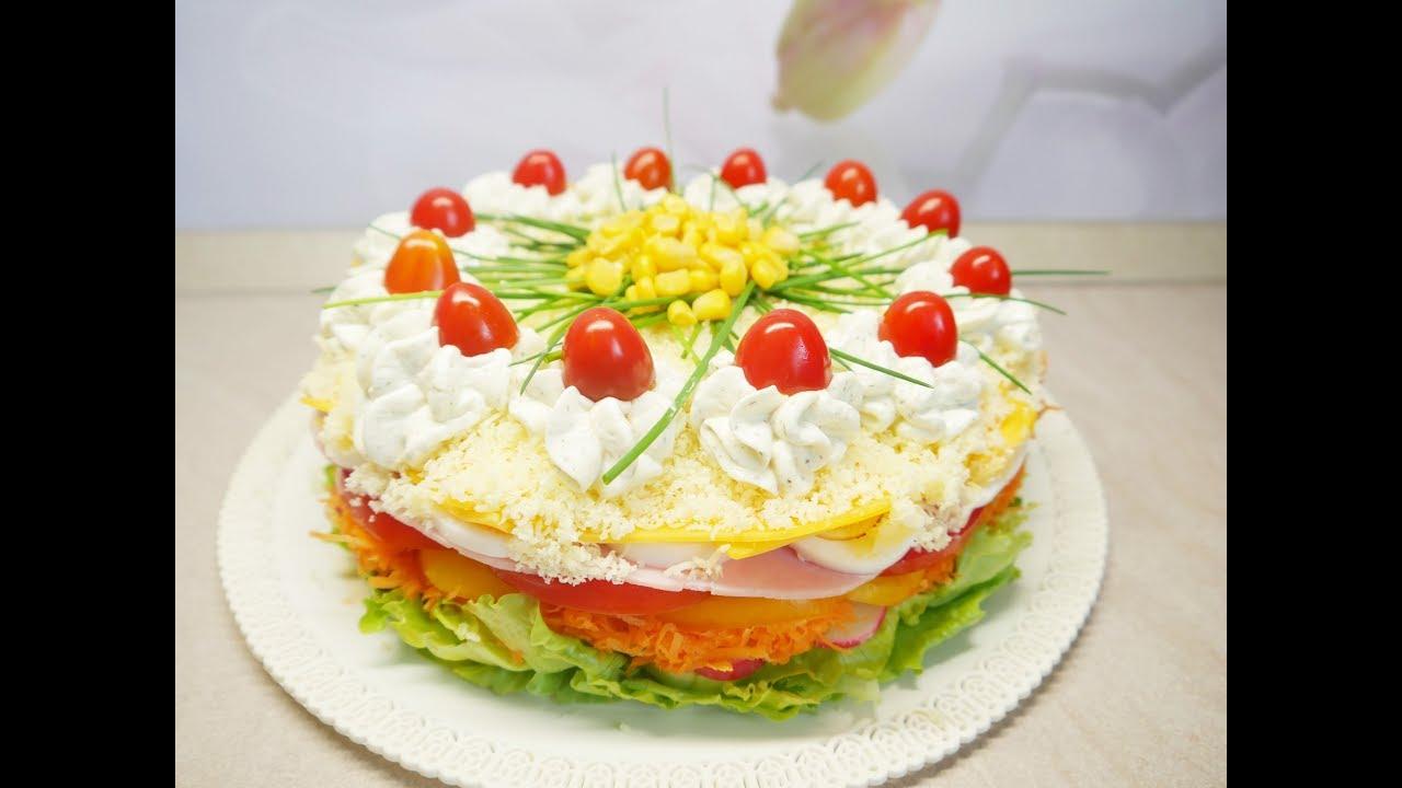 Salatkowy Tort Bardzo Zdrowy Kasia Ze Slaska Gotuje