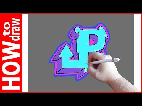 Граффити шрифты, (алфавит)-ABC