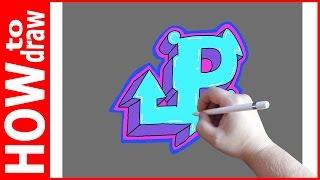 Как нарисовать граффити буквы, Р № 1(INSTAGRAM: https://www.instagram.com/dmitrysyrman/ Я в ВКОНТАКТЕ: http://vk.com/syrman_d Группа в ВКОНТАКТЕ: http://vk.com/public59608073 I'm on ..., 2016-09-26T02:06:58.000Z)