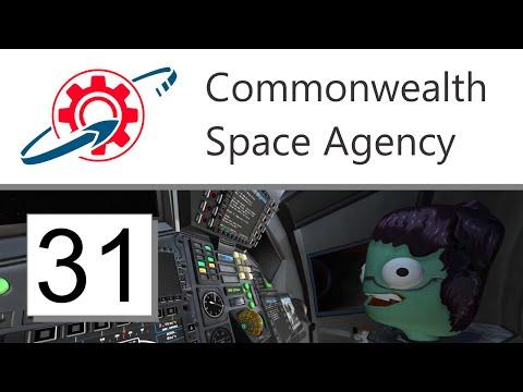 Kerbal Commonwealth Space Agency - 31. Pilot's Eye View to Minmus (KSP 1.1.2)