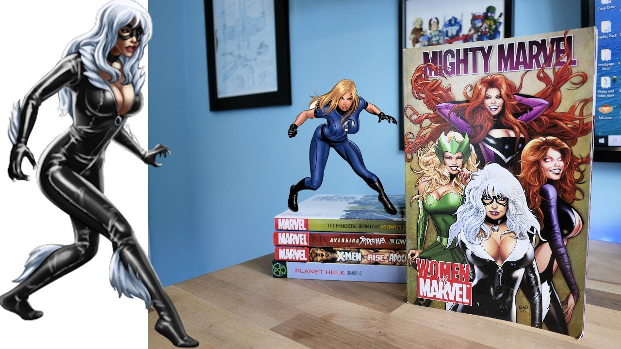 MIGHTY WOMEN of MARVEL TPB Collection Review
