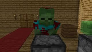 Monster School: Cooking Challenge - Minecraft Animation