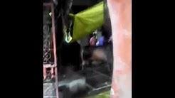 Pashu k sath atyachaar in shiv kuti mandir raghubarpura gandhi nagar delhi