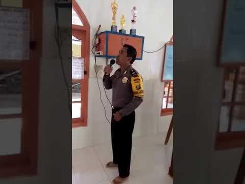 Lantunan Adzan yang Indah dari Aiptu Asnadi Bhabinkamtibmas Seputih Surabaya