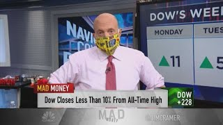Jim Cramer advises investors to 'temper the vaccine hopes'