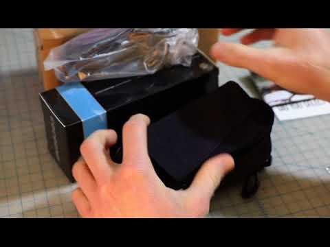 1aab27ec0f4 Live Eyewear Cocoons Stream Line Black Polarized Blue Mirror Unboxing