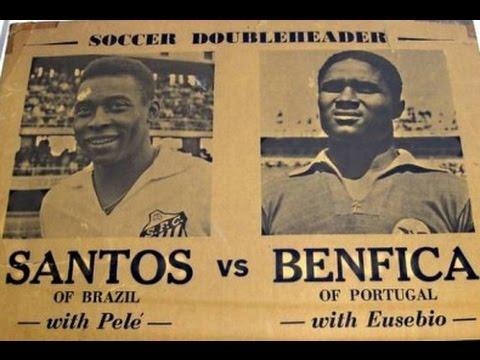 BEST GOAL: Pelé great dribbling and nutmeg vs Eusébio  (1962 Intercontinental Cup)