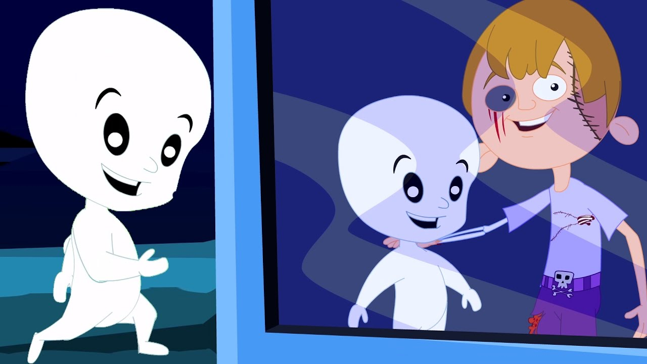 Naughty fantasma filastrocche compilation animato educativo