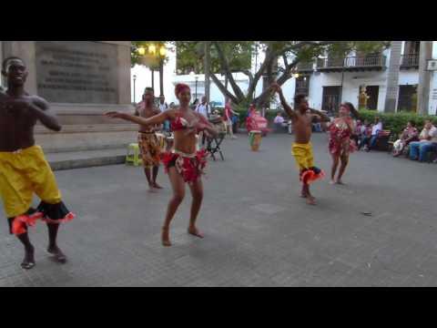 Mapalé en Cartagena de Indias.