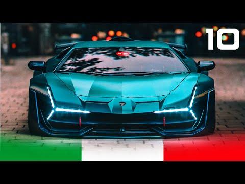 10 New Best ITALIAN SUPERCARS for 2020 – 2021 | Lambo, Ferrari, Pagani, Pininfarina…