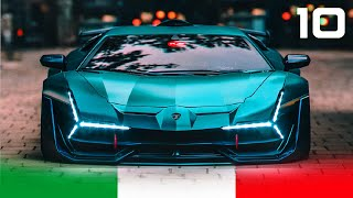 10 New Best ITALIAN SUPERCARS for 2020 - 2021 | Lambo, Ferrari, Pagani, Pininfarina...