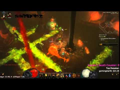 LiveStream - Diablo 3 | Playing Rifts & Bounties with the chatroom - 1 / 2