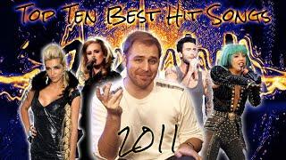 The Top Ten Best Hit Songs of 2011