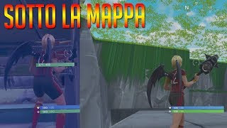 NEW TOMATO TEMPLE GLITCH TUNNEL! ON THE MAP OF FORTNITE!