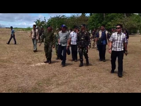Defense chief visit to Pag-asa Island a morale boost for troops