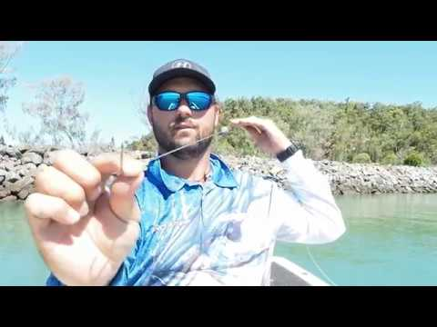 how to catch a barra on live bait