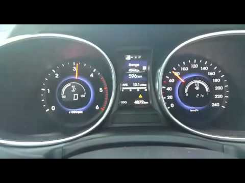 Hyundai Santa Fe 2.2 crdi 197 Ps Acceleration from 0-120
