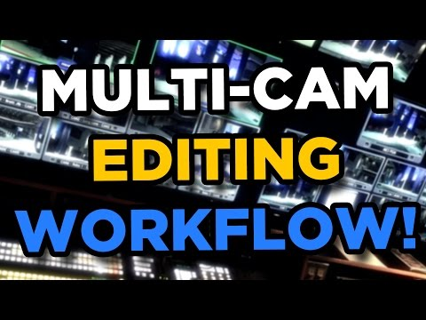 How I Edit Multi-Cam Videos in Premiere Pro CC - Workflow Walkthrough
