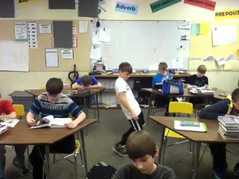 The Harlem Shake Kids In Class