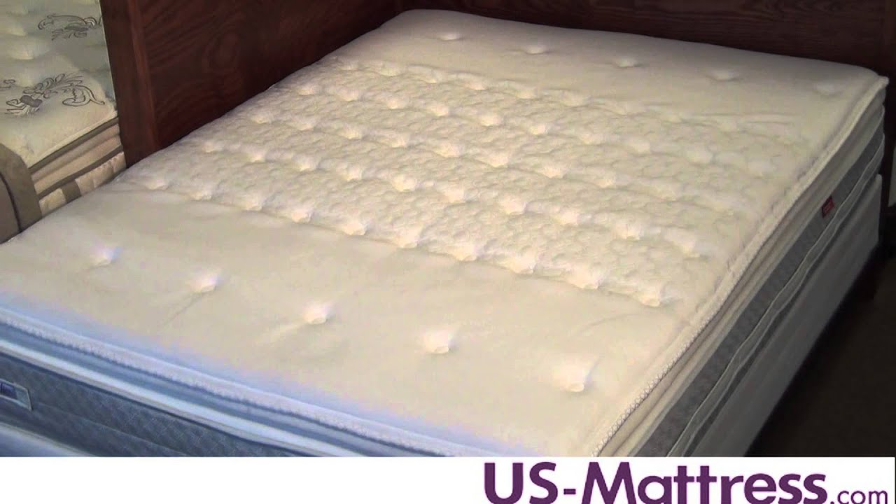 Sealy Posturepedic Cooper Mountain Firm Euro Pillowtop Mattress