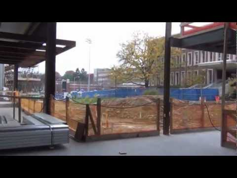 Complete Tour of the Pegula Ice Arena Construction Site