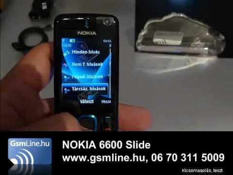 NOKIA 6600 SLIDE | www.GsmLine.hu