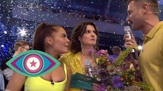 Siegesfeier: Janine verlässt als Letzte das Camp  | Promi Big Brother 2019 | SAT.1