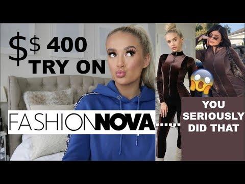 $400+ FASHION NOVA TRY ON HAUL!!!... I...