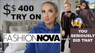 $400+ FASHION NOVA TRY ON HAUL!!!... I CAN'T BELIEVE THEY DID THAT😂