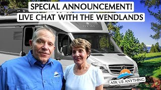 A Very Special Announcement and More RV Q&A!
