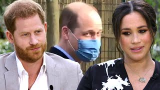 Prince Williams REACTS to Prince Harry and Meghan Markle's Racism Claims During Oprah Interview