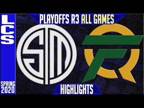 TSM vs FLY Highlights ALL GAMES | LCS Spring 2020 Playoffs Round 3 | Team Solomid vs FlyQuest