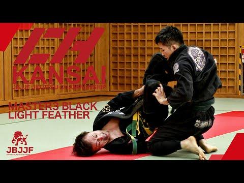 【JBJJF関西柔術選手権2021】マスター3黒帯ライトフェザー級
