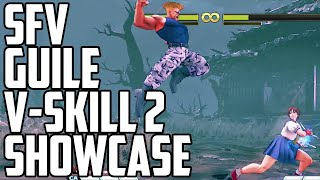 Air Sonic Boom! Guile V-Skill 2 Combos!