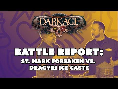 Dark Age Battle Report: St. Mark Forsaken vs. Dragyri Ice Caste