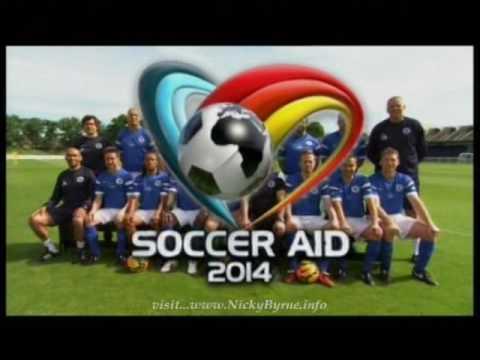 Soccer Aid 2014 pre match s