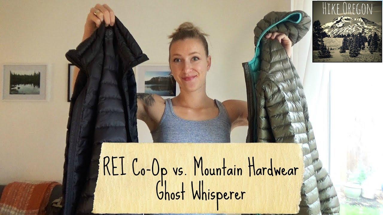 328511697 Ghost Whisperer vs REI Co-Op Down Jacket - YouTube
