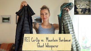 Ghost Whisperer vs  REI Co-Op Down Jacket